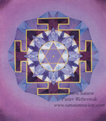 Click to the website of Sanatan Society for a larger image of this Saturn Yantra painting