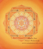 Yantra of the Sun  - by Pieter Weltevrede - click for a larger image